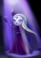 Meloetta Eve by Joltik92