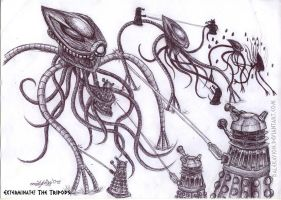 Exterminate the Tripods by DalekMercy