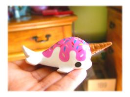 Lil Vanilla NarWhal by SprinkleChick