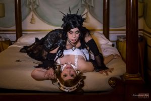 Marishka and Aleera Vampires - Original cosplay by TwiSearcher85