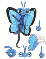 Turbo and Turbo FAST - Me in blue butterfly form by Magic-Kristina-KW