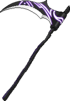 maplestory custom scythe by kelixsiners