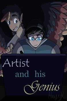 Artist and his Genius Cover by hayy1