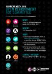 Open Recruitment for Committee Business Week 2016 by Michalv