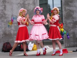 Fanime'12: Scarlet Sisters by theEmperorofShadows