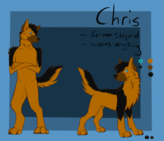 -AT- Chris Reference by GreyeWolf