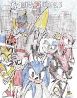 Sonic Heroes by chaoscontrolmaster