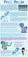 [G1] Frost Ponies Species Reference by RicePoison