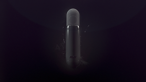 AVII Microphone / Wallpaper by kngzero