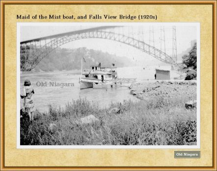 Maid of the Mist boat (1920s) by Niagara14301