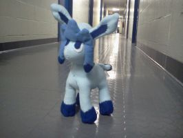 Week 7- Glaceon Plush by theamazingwrabbit