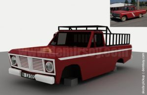 Skoda Old Pickup by demirsoy
