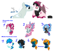 Breedable babies yet again CLOSED by Sarahostervig