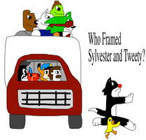 Who Framed Sylvester and Tweety by adamRY