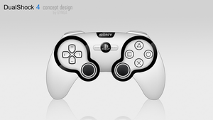 DualShock 4 concept design by GYNGA