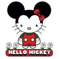 hello mickey by Banes