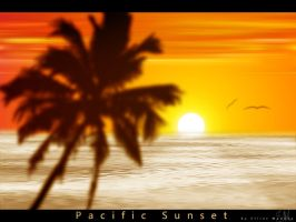 Pacific Sunset by PhotoshopAddict89