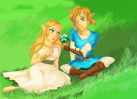A FLOWER FOR ZELDA by KathyPhantomhive