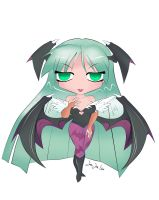 Chibi Morrigan Aensland by KrisLiao