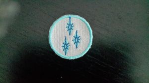 Rarity Cutie Mark Patch by Lillice