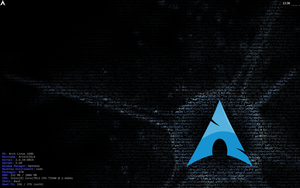 Arch Linux with LXDE by belh0r