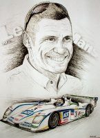Tom Kristensen Tribute by machoart