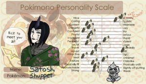 Satoshi Personality Scale by all-the-lovely-death