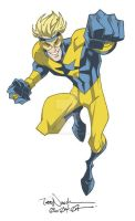 Booster Gold by ToddNauck