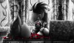 Fanart - MLP. Sanguine Kindness. Illustration 7 by jamescorck