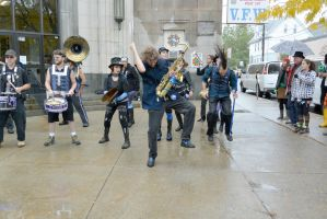 2014 Honk Festival, Chaotic Noise and Moves by Miss-Tbones