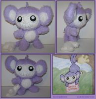 Chibi Aipom Plush by sorjei