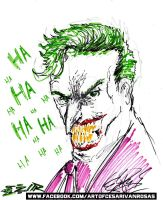 Joker Sketch by CZR31