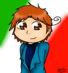 Italy Hetalia for Chasjade by Kyleisminame