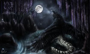 .: Lunar Lament :. by Wotansvogel