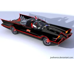 1966 Batmobile by joeliveros