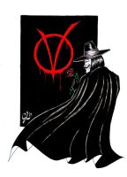 V for Vendetta by giulal