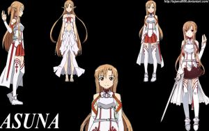 Asuna-Wallpaper by tajamul666