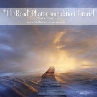 """""""The road"""" photomanip tutorial by Teodora-Chinde"""