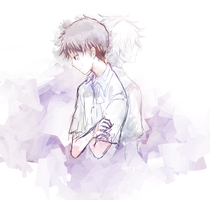 NGE - I loved him by palmtreehero