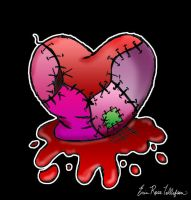 Zombie Heart by spookyspinster
