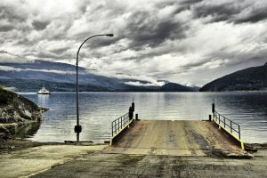 Kootenay Bay by Harley-Al