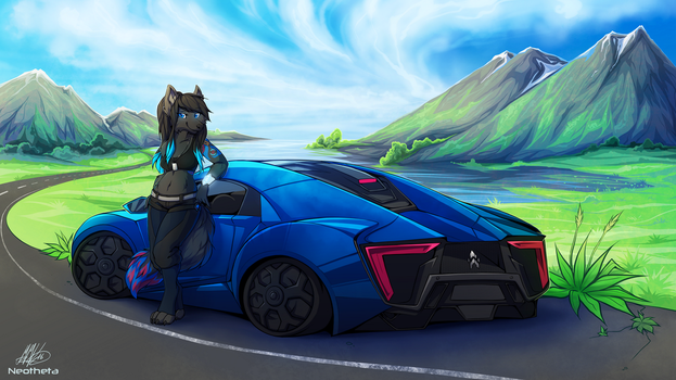 Mountain Drive by Neotheta