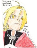 Edward Elric 02 by yumithespotter