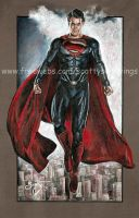 Superman Man of Steel  2013 by scotty309