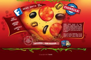 Website for Pizza Delivery by amynsattani