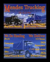 Truck  Business Card by nel9784