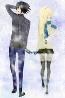 SasuIno_Winter by Diane-sama