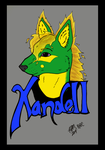 Xandell Badge (Colored) by medievalgoddess