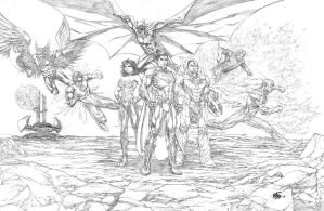JLA by Sequential76