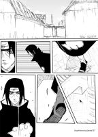 Itachi VS Byakuya p1 by Drake727